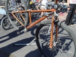 Bryan Keener\'s 36-inch wheel MTB