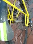 Shimano Capreo rear hub, folding rack