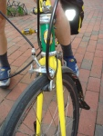 Front fork, King headset