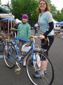 Super D and MG with Bianchi Randonneur