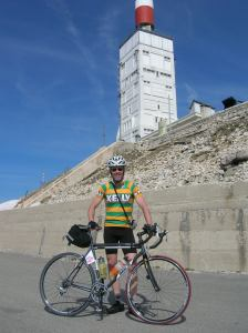 Kelly Atop Mt. Ventoux