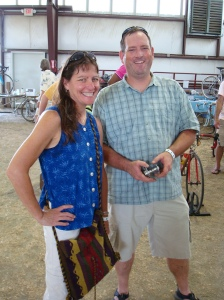 Maile and Charles of College Park Bicycles