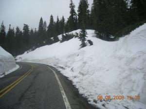 Climbing Cayuse Pass
