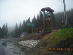 Atop Stevens Pass