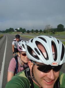 Riding North on VA42, Sunday Morning