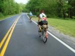 Drying roads near the Antietam battlefield