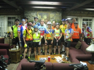 The riders of the PA 1000K, courtesy Bill Beck