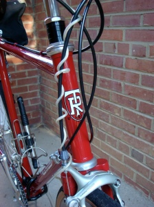 Ritchey head tube with extended steerer