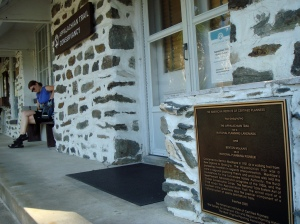 At the Appalachian Trail Conservancy headquarters