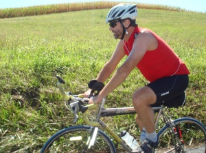 Keith on his Litespeed