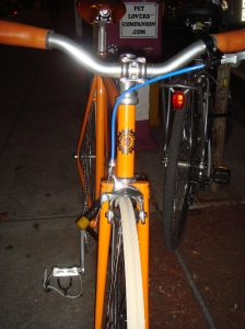 Milwaukee Bicycles Orange One