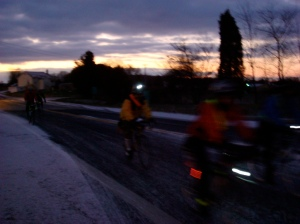 First Light, Off They Go