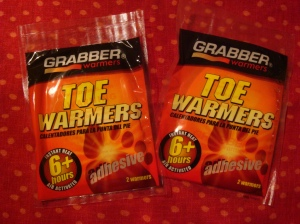 Toe Warmers!