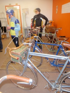 Great Bikes at Velo Orange (courtesy Maile Neel)