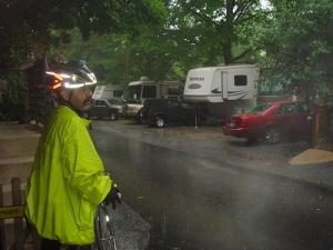 Exhibit A.  Rain.