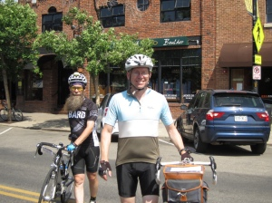Bob and Dave in downtown Boulder.