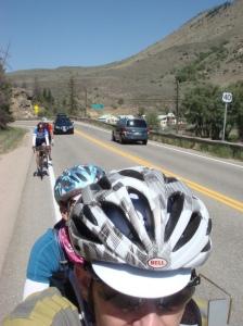Through Byers Canyon.