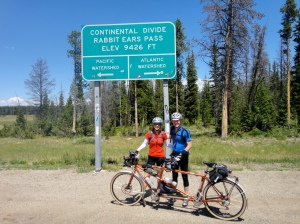 Second summit of the event, at Rabbit Ears Pass. Courtesy MG.