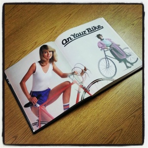 Tube socks-- a cycling staple of the 80s.