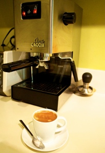 Gaggia Classic. A great starter machine.