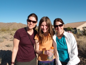 MG, daughter DF, and sister Marisa. That was a good day.