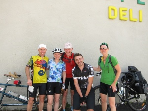Us and Max the cyclotourist