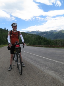 On top of McClure Pass. Big payoff for a relatively pleasant climb.