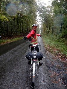 On the Road, in the Rain. (Courtesy MG)