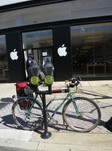 Nice bike parking, Apple.