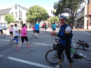 Historic Half Marathon underway in Fredericksburg, Va.