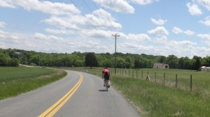 Mike Martin leads us toward Warrenton.