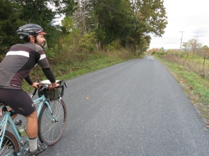 Riding with Matt H. near Massanutten Mountain