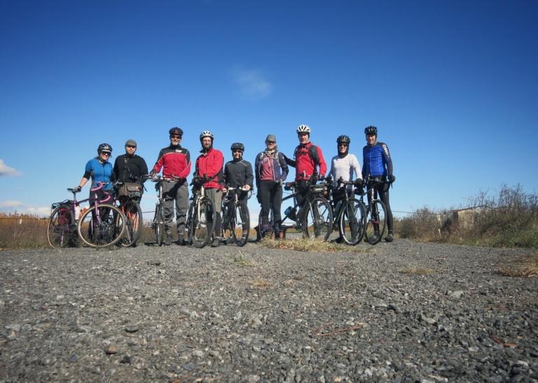 The French Toast Riders. Courtesy Mary Gersemalina.