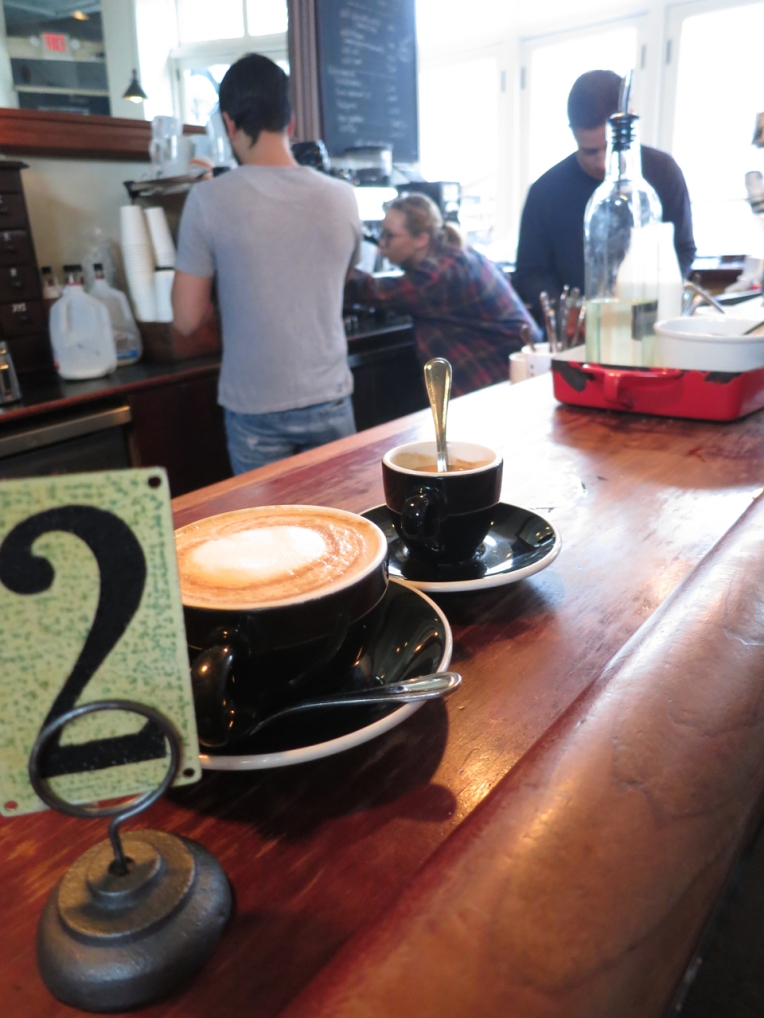 Two, two, two excellent coffee drinks