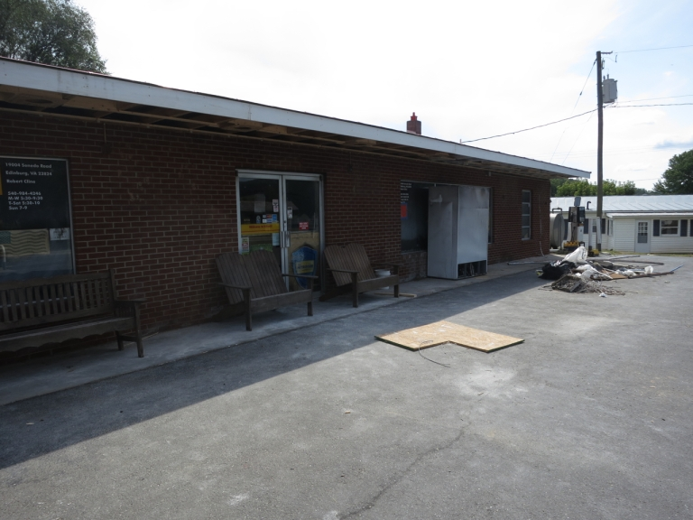 Larkin's is closed, but repairs are underway