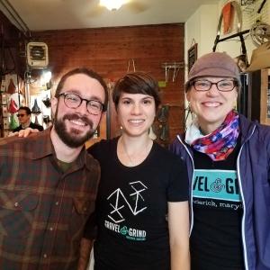 James, Mel and Mary