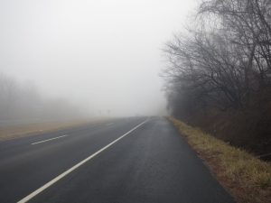 The fog on Snickers Gap